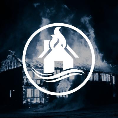 Gutachten für Feuerschaden und Wasserschaden