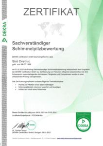 Dekra-Zertifikat-SV-Schimmelpilzbewertung